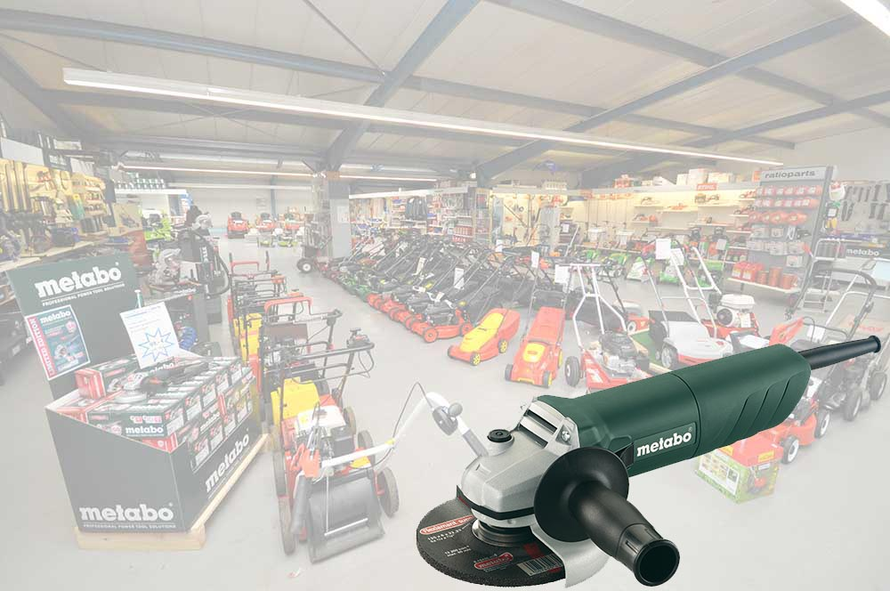 Flex-Winkelschleifer kaufen unsere Kunden bei Alfred Sinningen Motorgeräte.