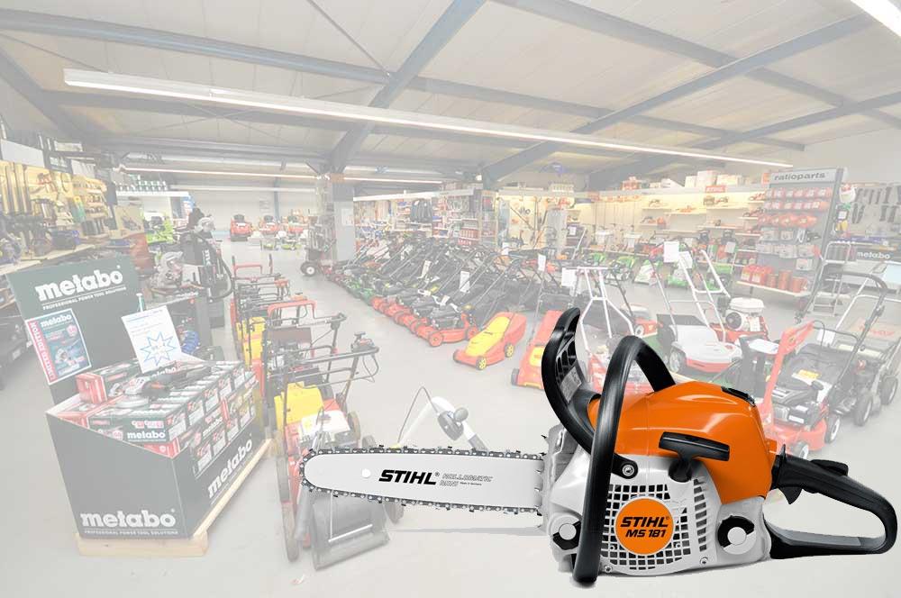 Kettensägen von Stihl kaufen unsere Kunden bei Alfred Sinningen Motorgeräte.