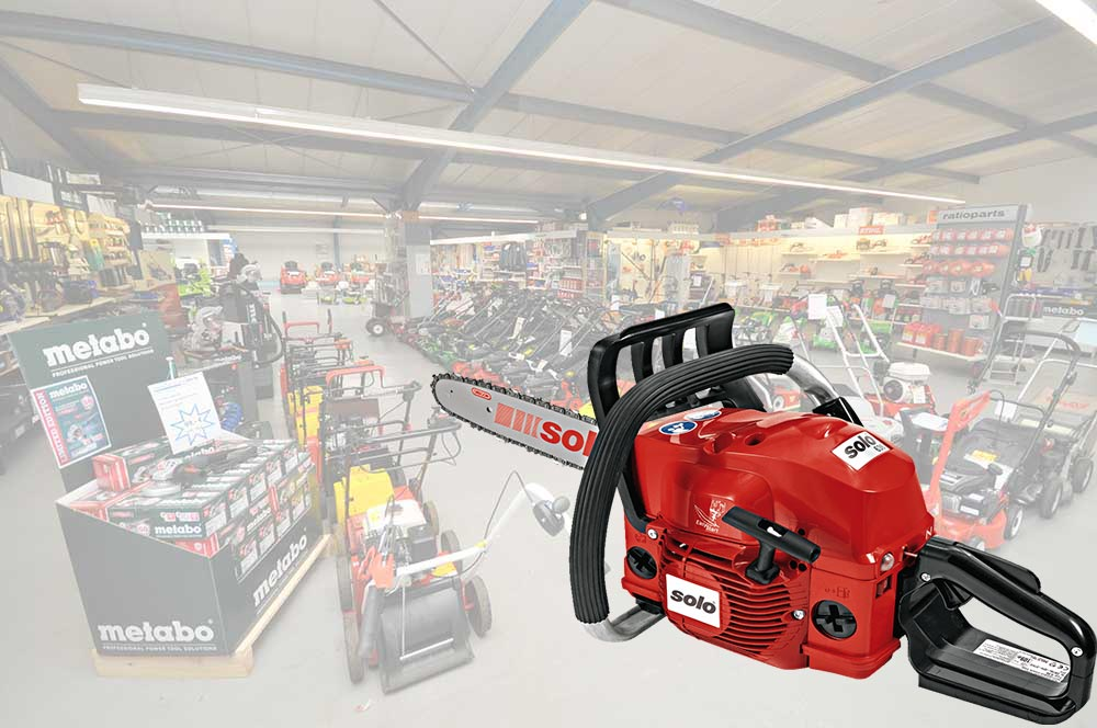 Motorsägen kaufen unsere Kunden bei der Firma Alfred Sinningen Motorgeräte.