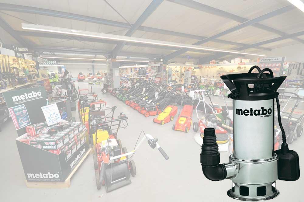 Eine Tauchpumpe kaufen unsere Kunden bei der Firma Alfred Sinningen Motorgeräte in Papenburg (Emsland).