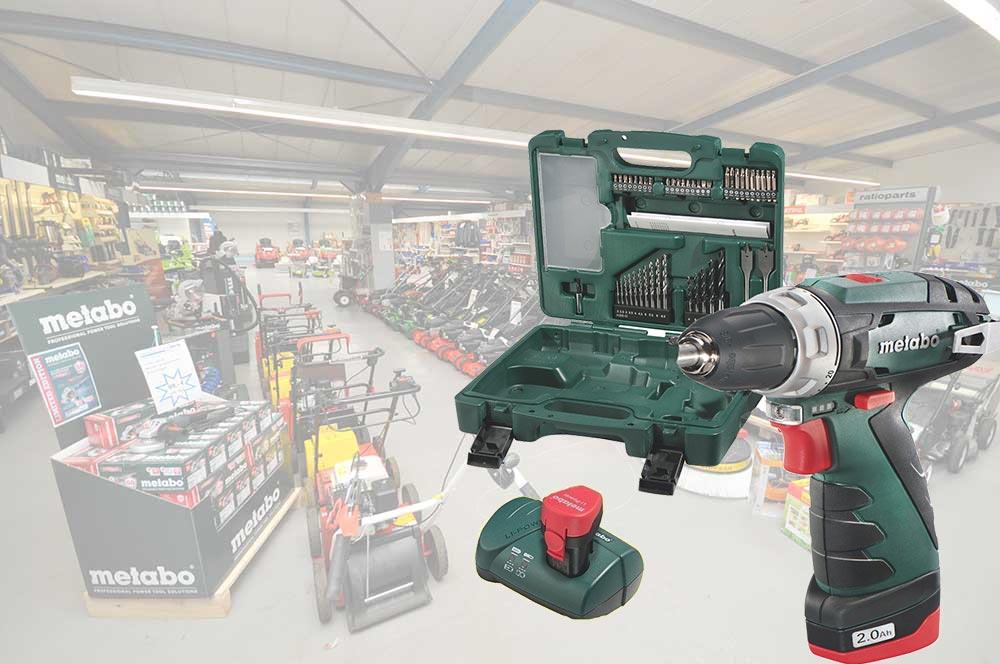 Eine Power Maxx Mobile Werkstatt von Metabo kaufen unsere Kunden bei Alfred Sinningen Motorgeräte.