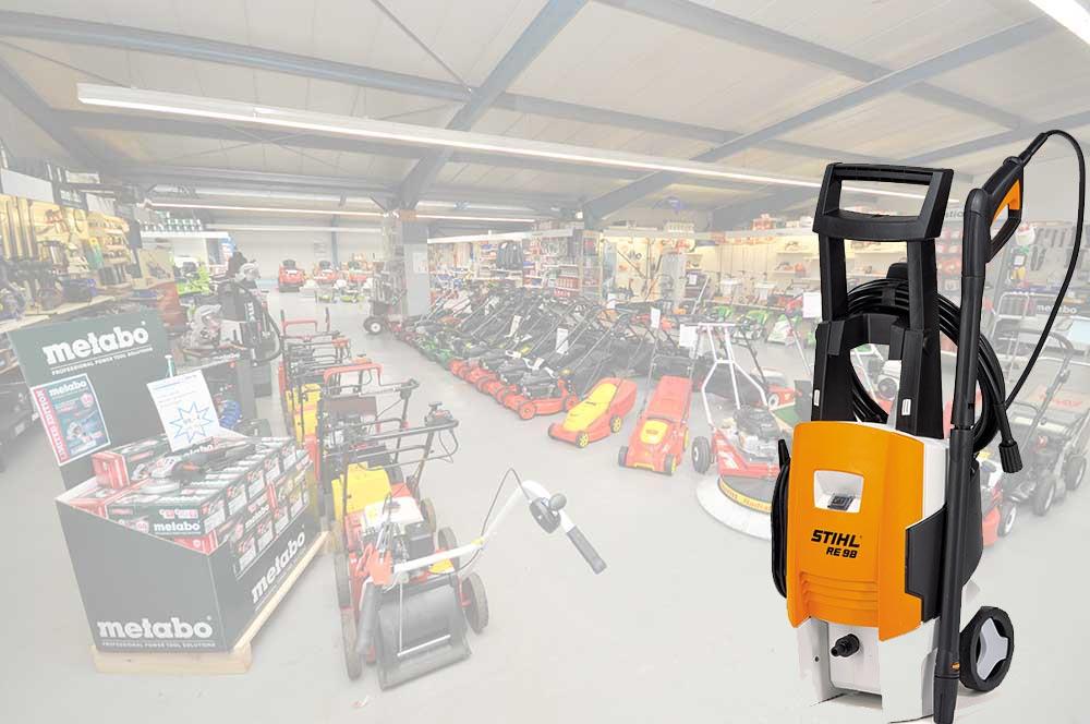 Hochdruckreiniger kaufen unsere Kunden bei Alfred Sinningen Motorgeräte.