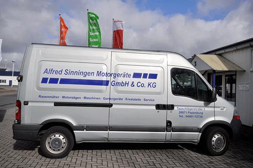 Wir bieten Ihnen neben unserem Werkstattservice und unserem Schärf- und Schleifservice auch einen Hol- und Bringdienst.